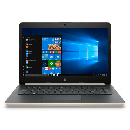 "Notebook HP 14-CM0007LA 14"" Amd Ryzen 3 2200u 2.5GHz 4GB+16GB Ram 1TB HD Windows 10 Esp. - 2"