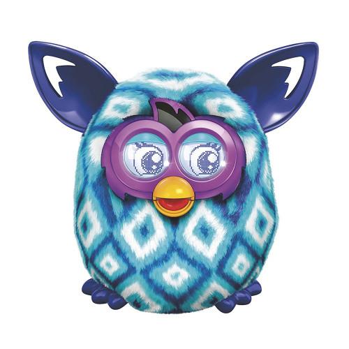 Pelúcia Interativa Hasbro Furby Boom Losango Azul Clar/Azul A6848 A4343 - 1