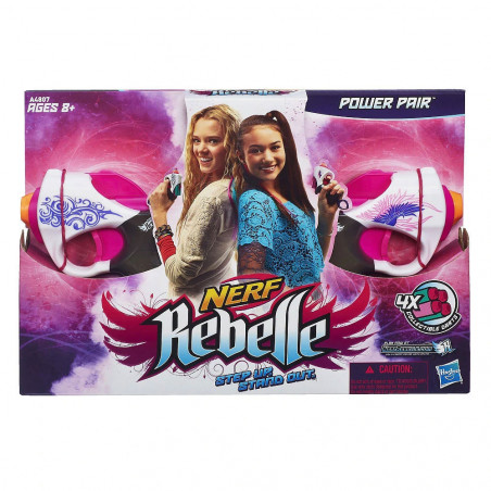 Lanza Dardos Hasbro Nerf Rebelle A4807 Power Pair - 2