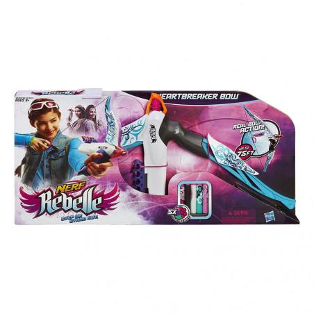 Lanza Dardos Hasbro Nerf Rebelle A6130 Heartbreaker Bow - 2