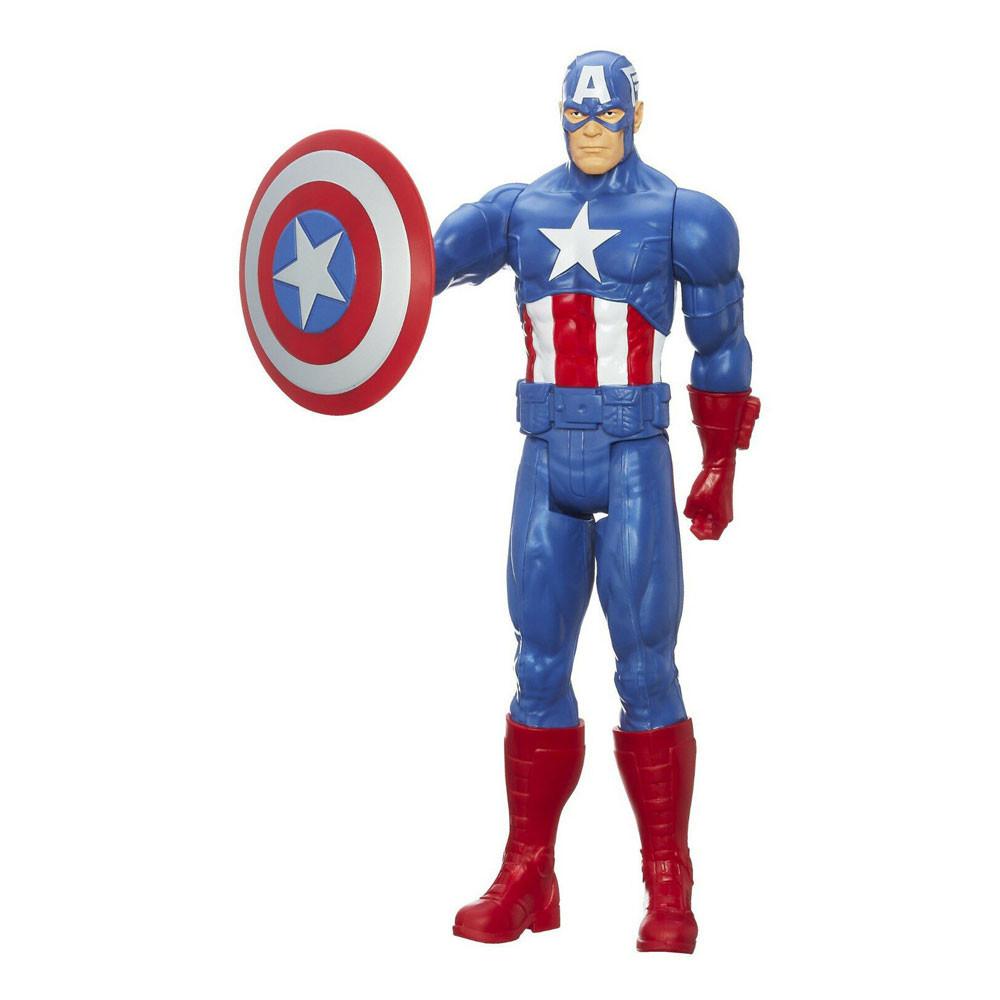 Muñeco Hasbro Marvel A6700 Capitán América Titan Hero - 1