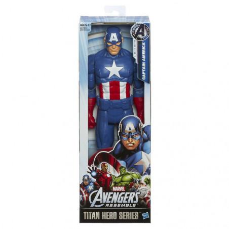 Muñeco Hasbro Marvel A6700 Capitán América Titan Hero - 2