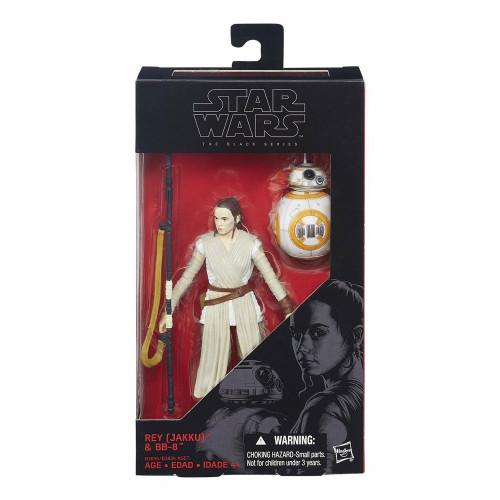 Muñeco Hasbro Star Wars B3836 Rey Jakku & BB-8 15CM - 2