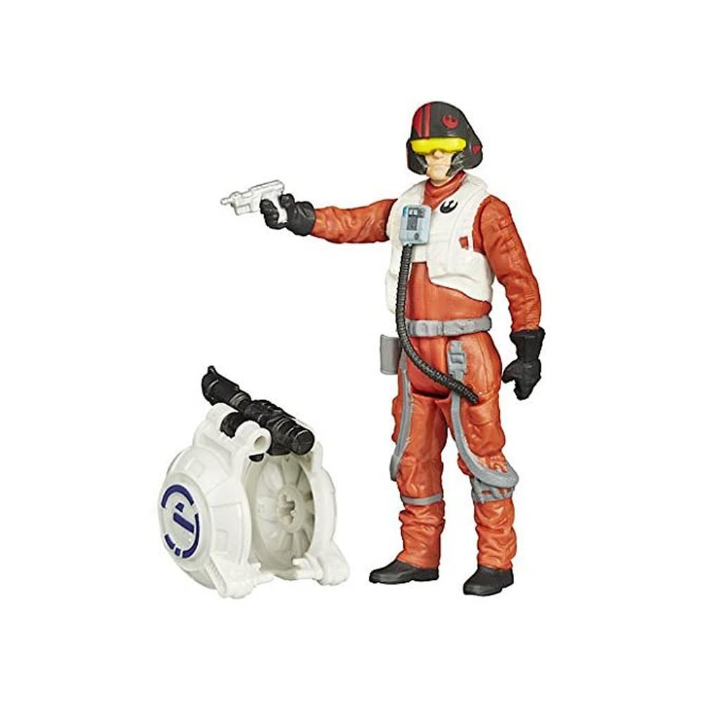 Muñeco Hasbro Star Wars B3449 Poe Dameron 9.5cm - 1