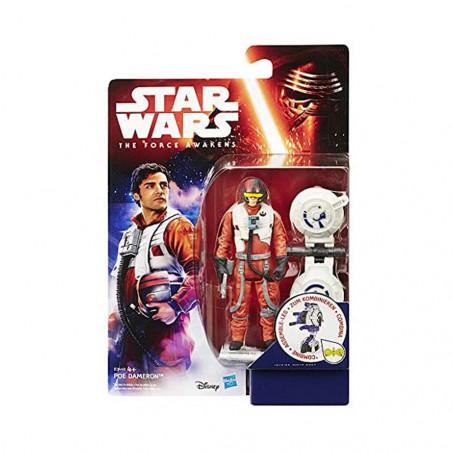 Muñeco Hasbro Star Wars B3449 Poe Dameron 9.5cm - 2