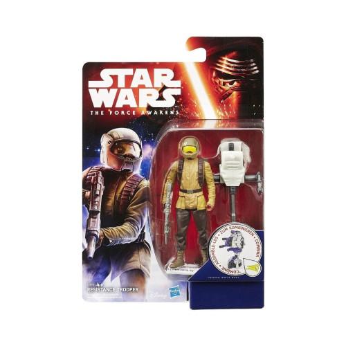 Muñeco Hasbro Star Wars B3451 Resistance Trooper - 1