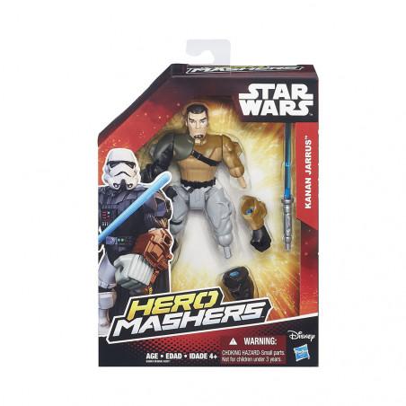 Muñeco Hasbro Star Wars B3661 Hero Mashers Kanan Jarrus - 2