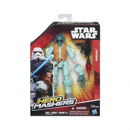 Muñeco Hasbro Star Wars B3770 Hero Mashers Greedo - 2