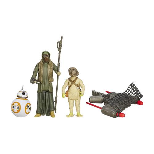 Muñeco Hasbro Star Wars B3956 Unkar s Thug & Jakku Scavenger - 1