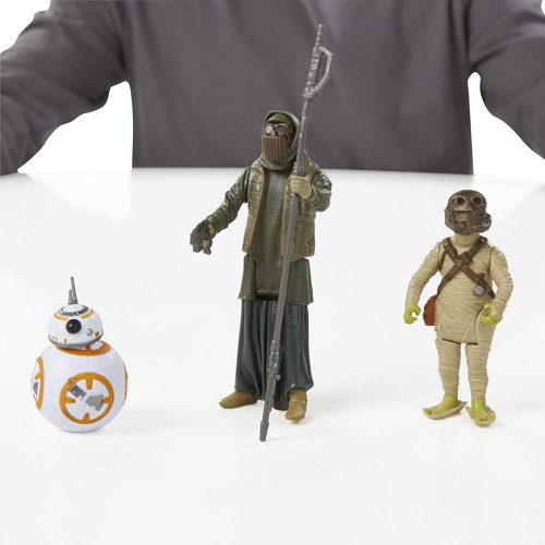 Muñeco Hasbro Star Wars B3956 Unkar s Thug & Jakku Scavenger - 2