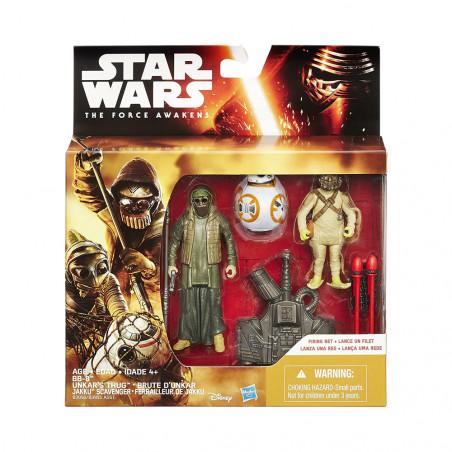 Muñeco Hasbro Star Wars B3956 Unkar s Thug & Jakku Scavenger - 6