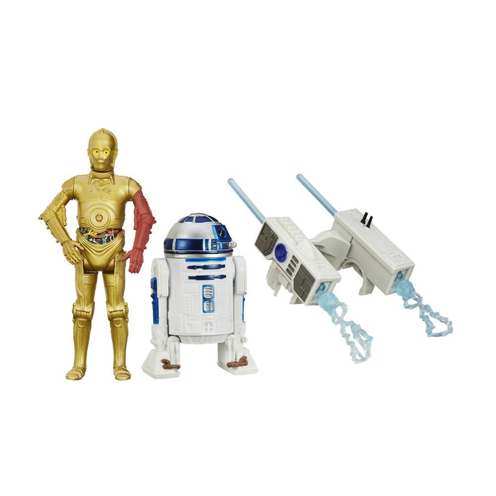 Muñeco Hasbro Star Wars B3957 R2-D2 & C-3PO 9.5cm - 1