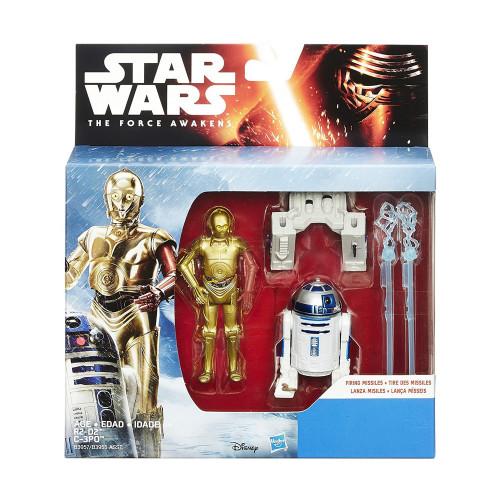 Muñeco Hasbro Star Wars B3957 R2-D2 & C-3PO 9.5cm - 2