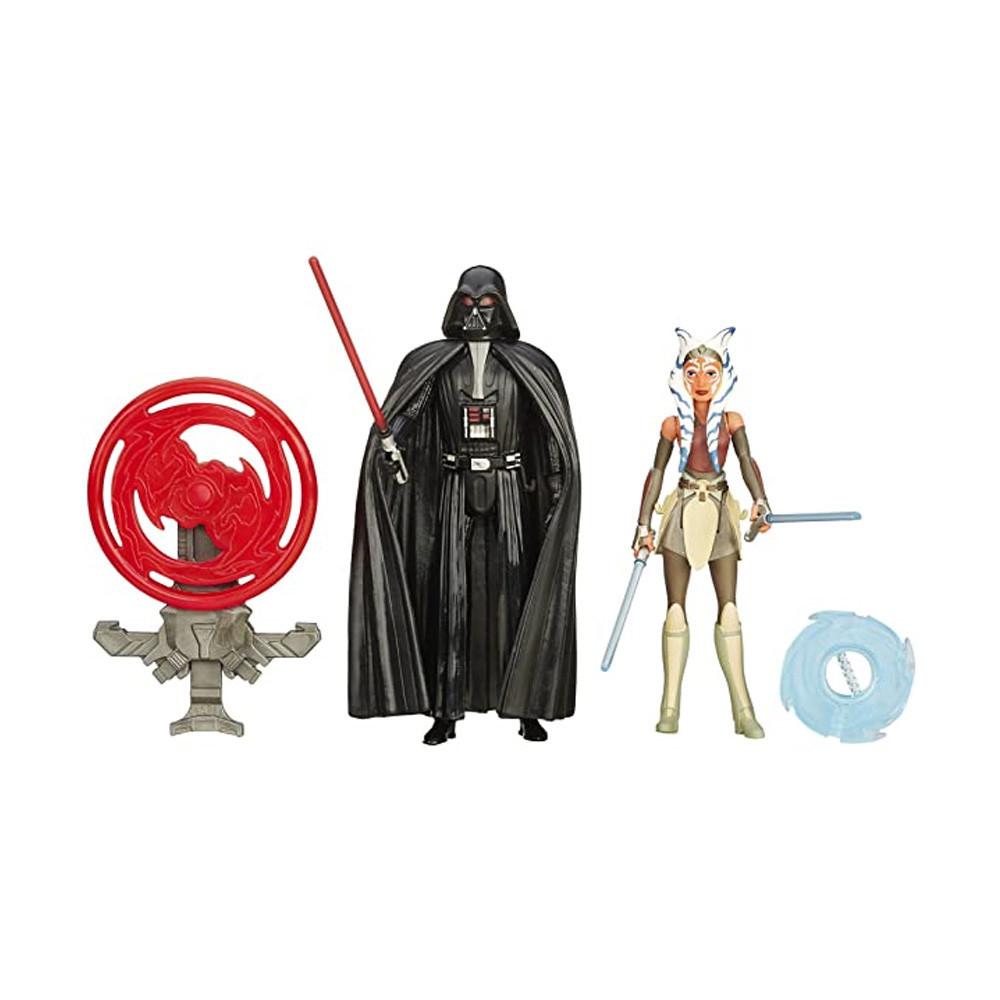 Muñeco Hasbro Star Wars B3959 Darth Vader & Ahsoka Tano 9.5cm - 1