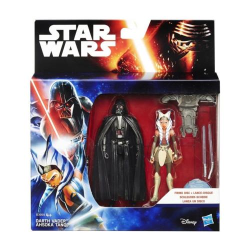 Muñeco Hasbro Star Wars B3959 Darth Vader & Ahsoka Tano 9.5cm - 2