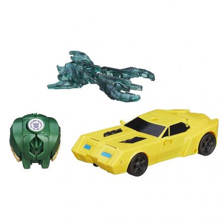 Muñeco Hasbro Transformers B5602 Bumblebee vs Mini-Con Major Mayhem - 2