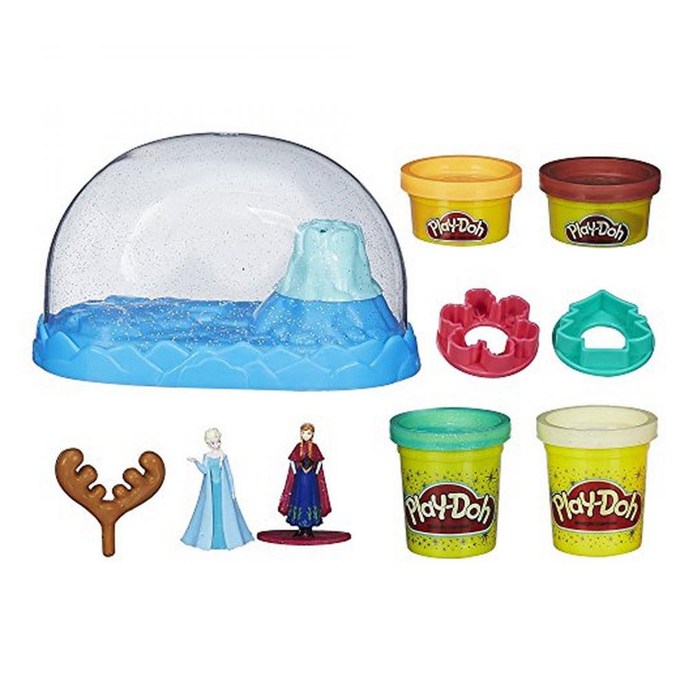 Play-Doh Hasbro Frozen B0656 Kit Globo de Nieve - 1