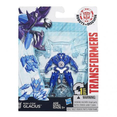 Muñeco Hasbro Transformers B5601 Mini-con Glacius - 4