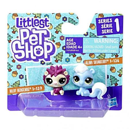 Littlest Pet Shop Hasbro C1676 Skunk & Hedgehog - 2