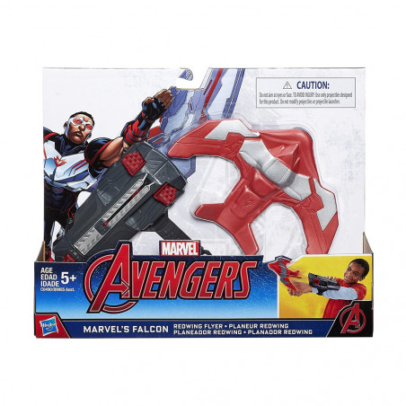 Lanzador Hasbro Avengers Marvel C0490 Falcon Planador Redwing - 2