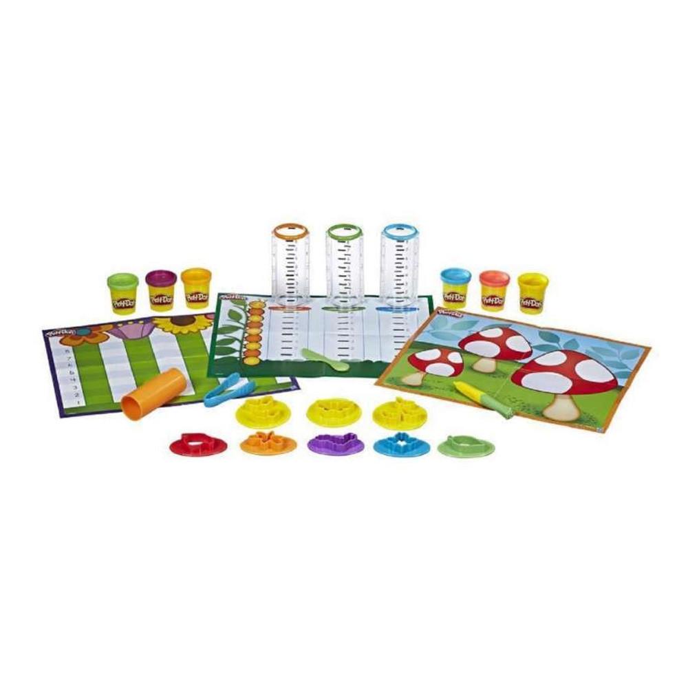 Masa de Modelar Hasbro Play-Doh B9016 Modelar y Aprender - 1