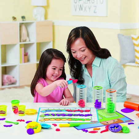 Masa de Modelar Hasbro Play-Doh B9016 Modelar y Aprender - 3