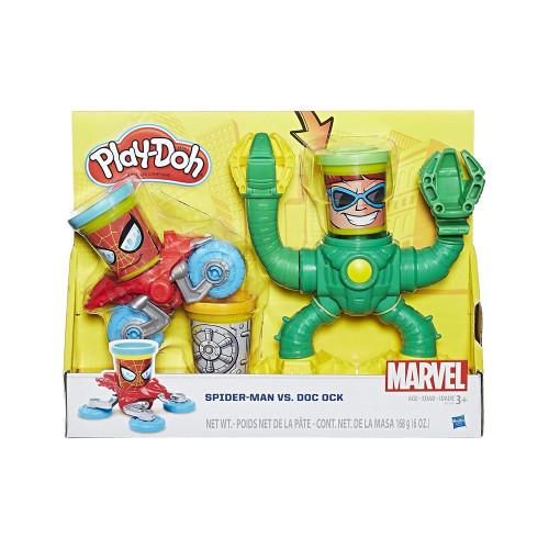 Masa De Modelar Hasbro B9364 Play-Doh Spider-Man vs Doc Ock - 2