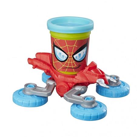 Masa De Modelar Hasbro B9364 Play-Doh Spider-Man vs Doc Ock - 3