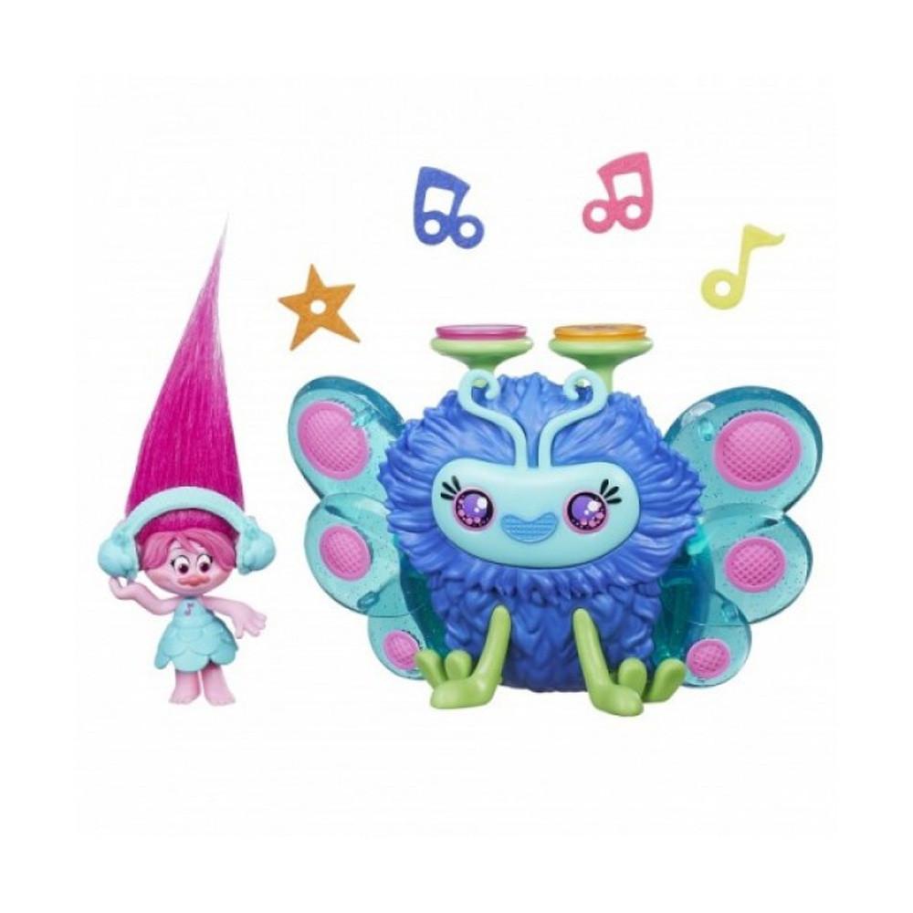 Muñeca Hasbro DreamWorks Trolls B9885 Bicho musical de Poppy - 1