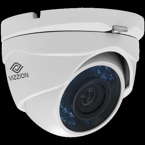 Cámara de Vigilancia HD Dome Vizzion VZ-DC0T-IRMF 1.0MP 2.8MM - 1