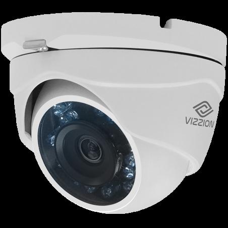 Cámara de Vigilancia HD Dome Vizzion VZ-DC0T-IRMF 1.0MP 2.8MM - 3