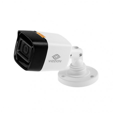 Cámara de Vigilancia FHD Bullet Vizzion VZ-BD0T-ITFS 2.8MM 2MP IR 25M AUDIO 1080p - 1