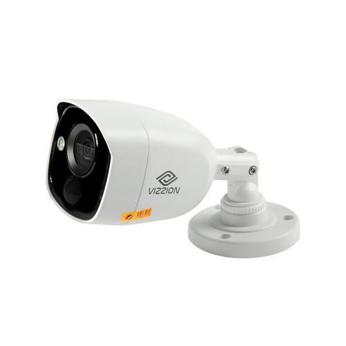 Cámara de Vigilancia FHD Bullet Vizzion VZ-BD0T-PIRLPO 3.6MM 2MP IR 20M Detecção Pir Alarme 1080p - 1