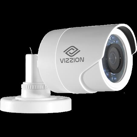 Cámara de Vigilancia FHD Bullet Vizzion VZ-BD0T-I3F 2.8MM 2MP IR 30M 1080p - 1
