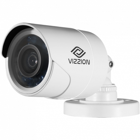 Cámara de Vigilancia FHD Bullet Vizzion VZ-BD0T-I3F 2.8MM 2MP IR 30M 1080p - 2