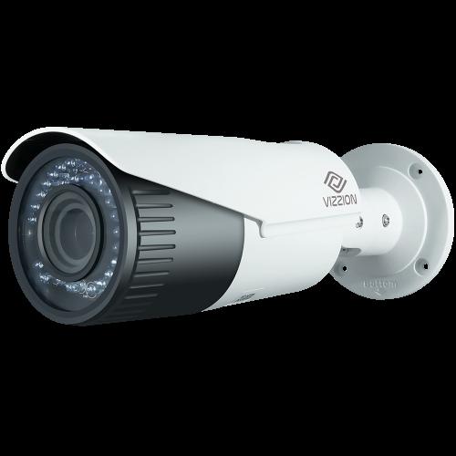 Cámara de Vigilancia IP FHD Bullet Vizzion VZ-IPBD-VF Lente 2MP de 2.8 a 12 mm - Blanco - 2