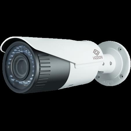 Cámara de Vigilância IP FHD Bullet Vizzion VZ-IPBD-VFZ Lente 2MP de 2.8 a 12 mm - Blanco - 1