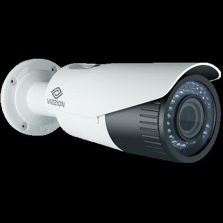 Cámara de Vigilância IP FHD Bullet Vizzion VZ-IPBD-VFZ Lente 2MP de 2.8 a 12 mm - Blanco - 2