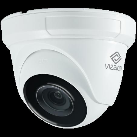 Cámara de Vigilancia IP FHD Dome Vizzion VZ-IPDD 2.0MP 2.8MM - 1