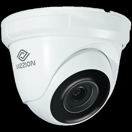Cámara de Vigilancia IP FHD Dome Vizzion VZ-IPDD 2.0MP 2.8MM - 2