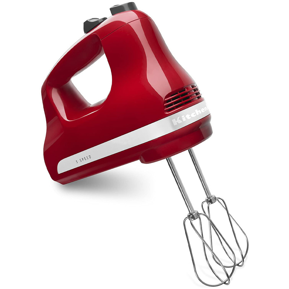 Batidora de Mano KichenAid KHM512ER 5 Speed Hand Mixer Rojo - 2