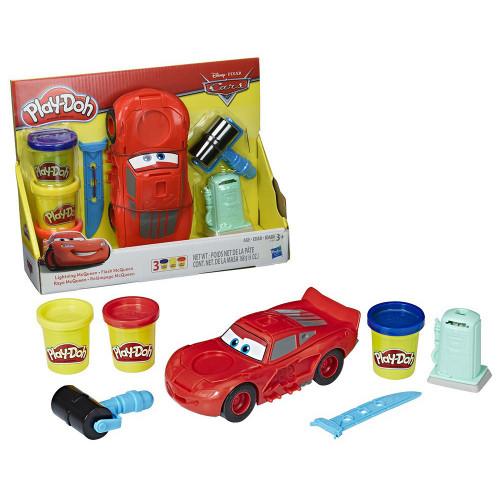 Masa de Modelar Play-Doh Disney C1043 Relampago Mcqueen - 1