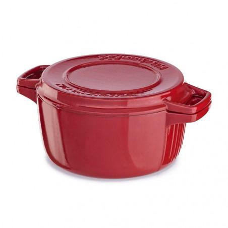 Casserole KitchenAid KCPI40CRFU 6-Quart Professional Rojo - 1