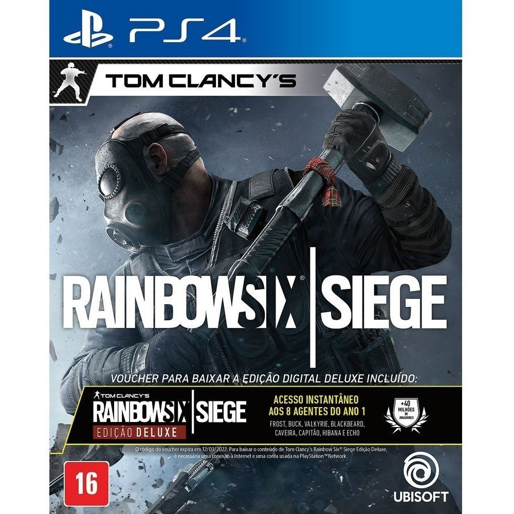 Juego Playstation 4 Rainbow Six Siege So Online - 1