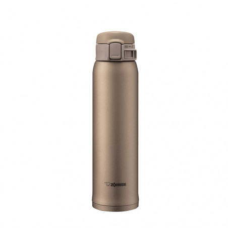 Botella Inox Zojirushi SM-SE60NZ Ouro Bege 600ML - 1