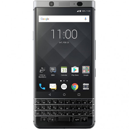Smartphone Blackberry Keyone BBB100-1 4G CAT6 Silver - 1