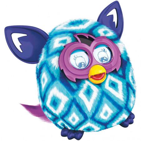 Pelúcia Interativa Hasbro Furby Boom Losango Azul Clar/Azul A6848 A4343 - 3
