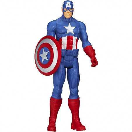 Muñeco Hasbro Marvel A6700 Capitán América Titan Hero - 3