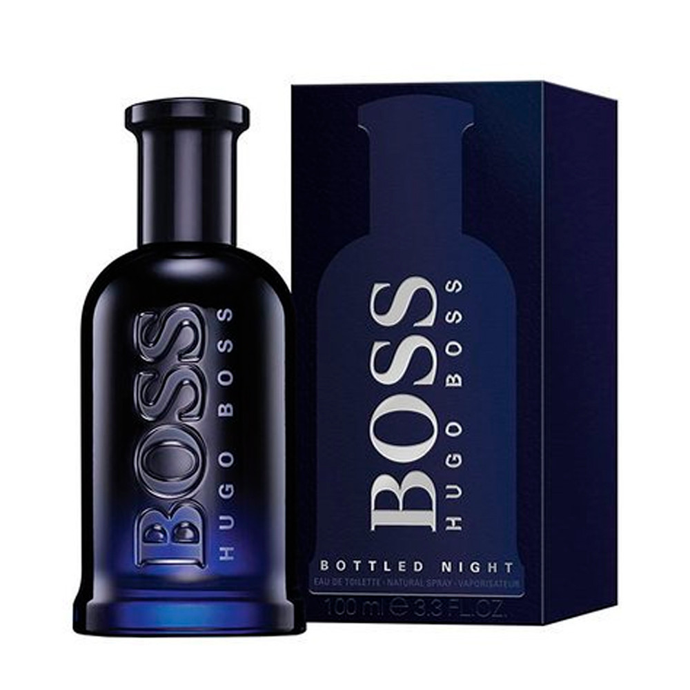 PERF.HUGO BOSS BOTTLED NIGHT 100ML EDT - 737052352060 - 1