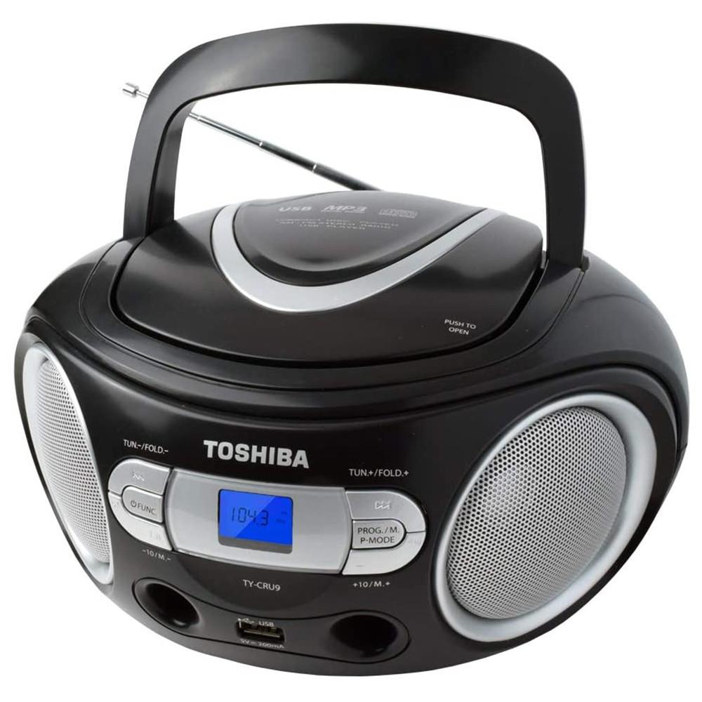 MICROSYSTEM TOSHIBA TY-CRU9 BOOMBOX CD / USB - TY-CRU9 - 1